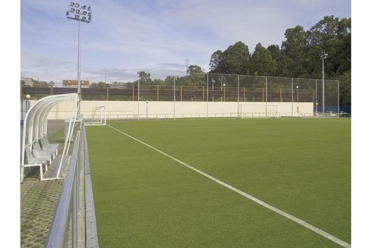 Campo de fútbol del Complejo Deportivo La Toba de Avilés