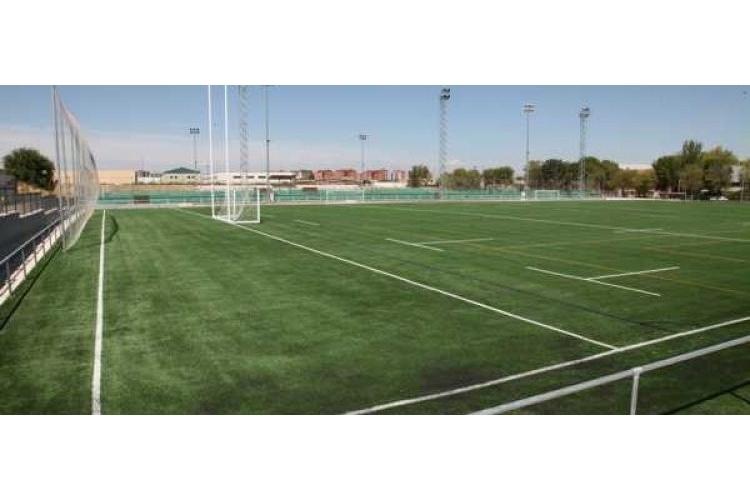 Campo de rugby del Complejo Deportivo La Toba de Avilés