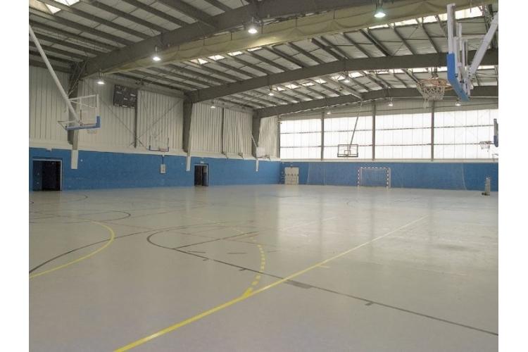 Pabellon del Complejo Deportivo La Toba de Avilés