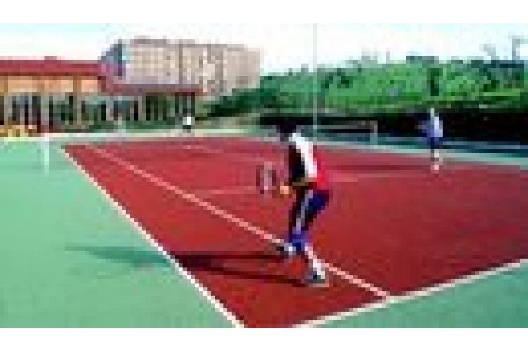 Pistas de tenis del Complejo Deportivo El Llano - Contrueces de Gijón