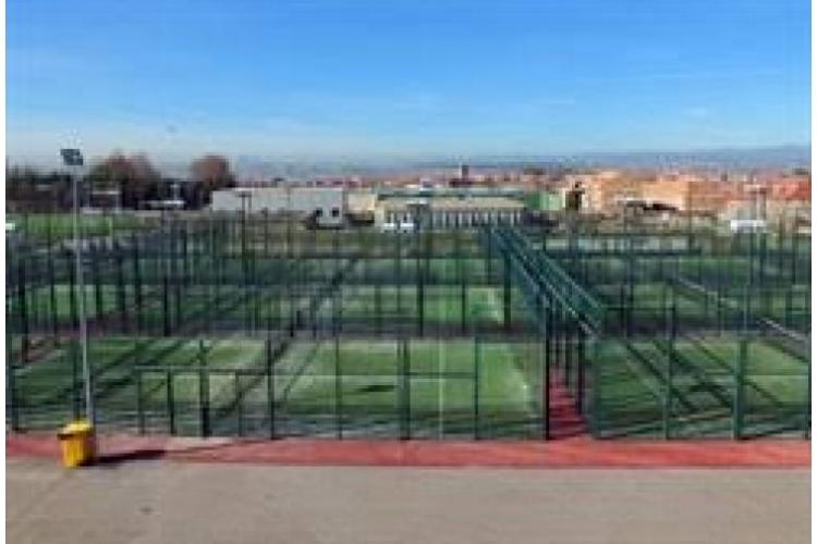 Pistas Pádel del Centro Polideportivo Municipal de Paracuellos del Jarama