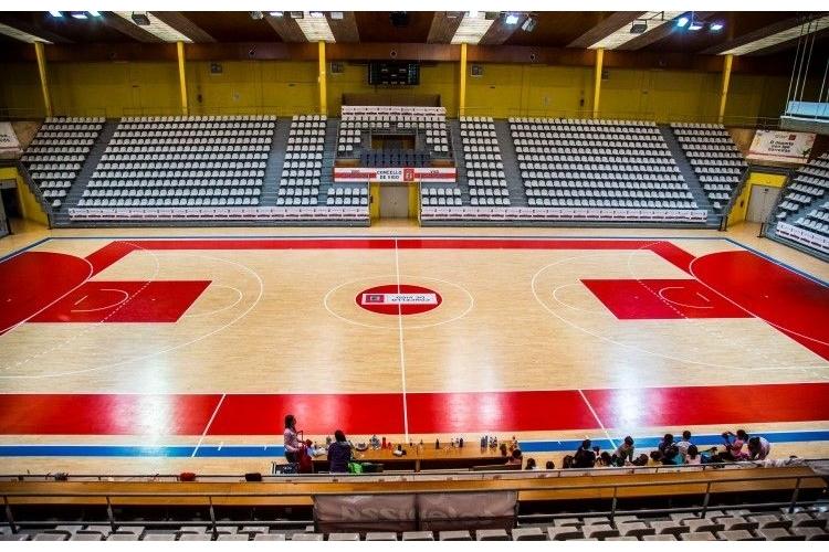 Pabellón deportivo As Travesas de Vigo.